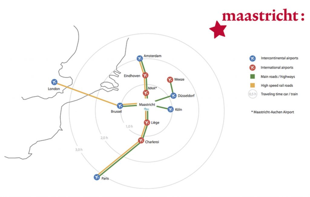 Airports to Maastricht
